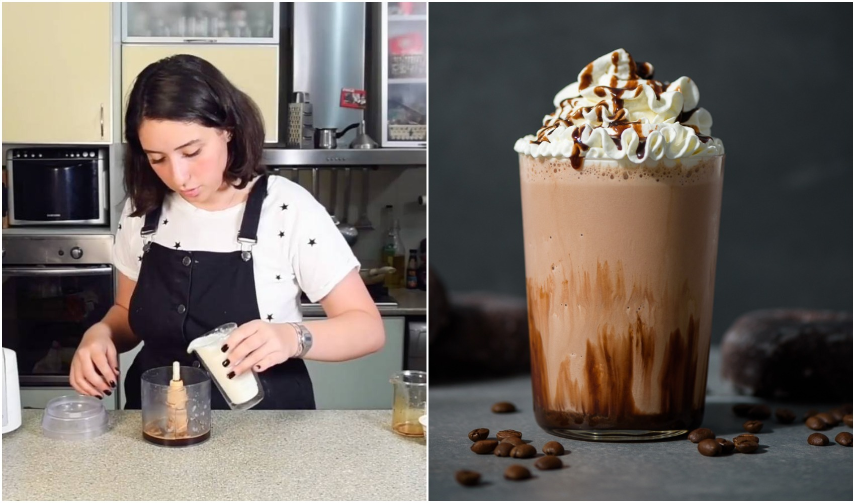 მოიმზადეთ სეზონის ყველაზე მოთხოვნადი ცივი ყავა ნაყინით ნუცას რეცეპტით და მოიწყვეთ განტვირთვა