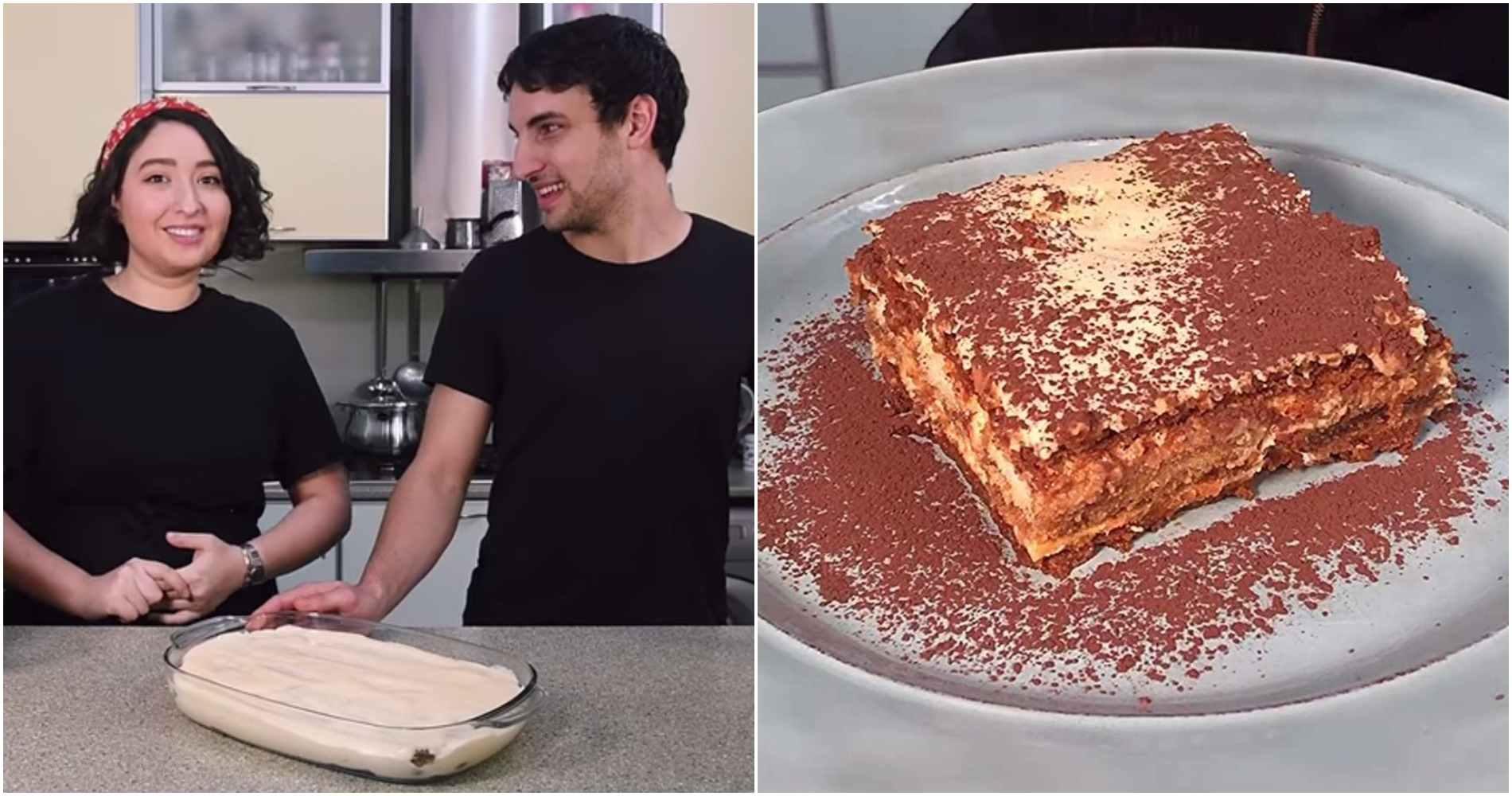 აუცილებლად სცადეთ ტირამისუს სახლში მომზადება - ნუცა და გაბრიელი საოცარი დესერტის რეცეპტს გთავაზობთ