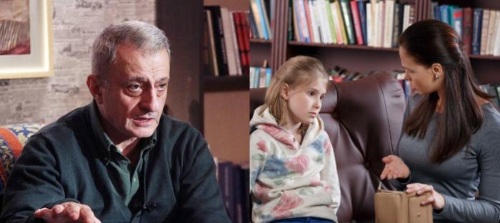 """""""ბავშვს უნდა აუკრძალო, აკრძალვები ბავშვს ზრდის, თუმცა ამას უნდა ჰქონდეს საზრისი,"""" - ფსიქოთერაპევტი რეზო კორინთელი"""