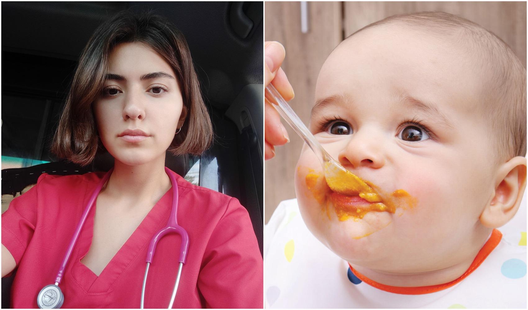 """""""მშობლებს ვურჩევ, ჩვილის კვება დაიწყონ ბოსტნეულის ფაფებით, რადგან, როცა ხილის ფაფებით იწყებენ, შემდეგ ბოსტნეულს ვეღარ იღებენ ხოლმე"""""""