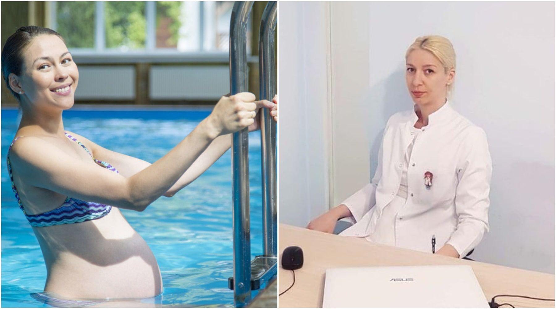 რა უპირატესობები აქვს ორსულობის დროს ცურვას სპორტის სხვა სახეობებთან შედარებით?