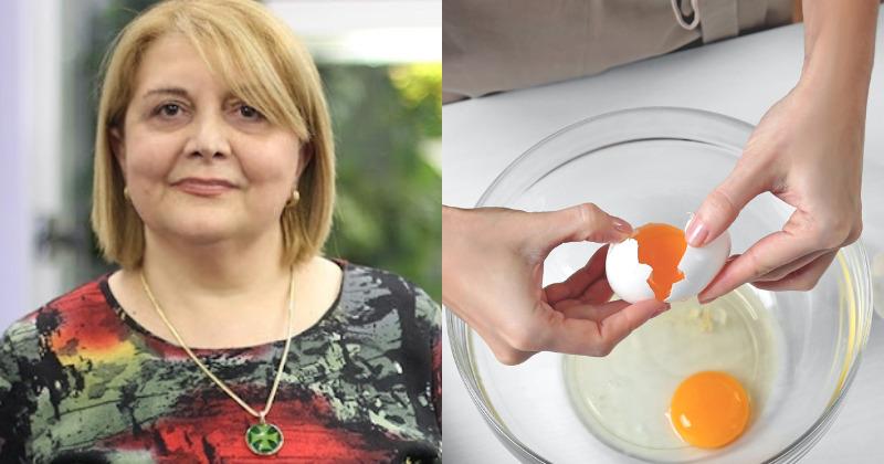 """""""კვერცხის გული უნდა გაითქვიფოს და ბავშვს წავუსვათ ფეხისგულებზე. ტემპერატურა იკლებს ძალიან სწრაფად,"""" - ინგა მამუჩიშვილი"""