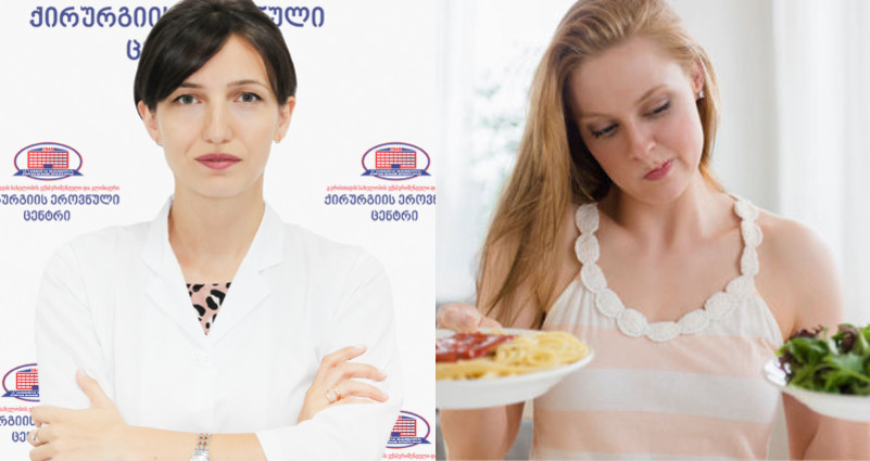 3 უდიდესი შეცდომა, რომელსაც წონაში კლების დროს ვუშვებთ - ენდოკრინოლოგი ანა ჭოხონელიძე