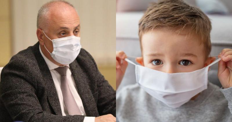 """""""დღეს კოვიდ კლინიკებში 90 ბავშვი მკურნალობს, აქედან რამდენიმე არის საყურადღებო,"""" - დიმიტრი ხუნდაძე"""