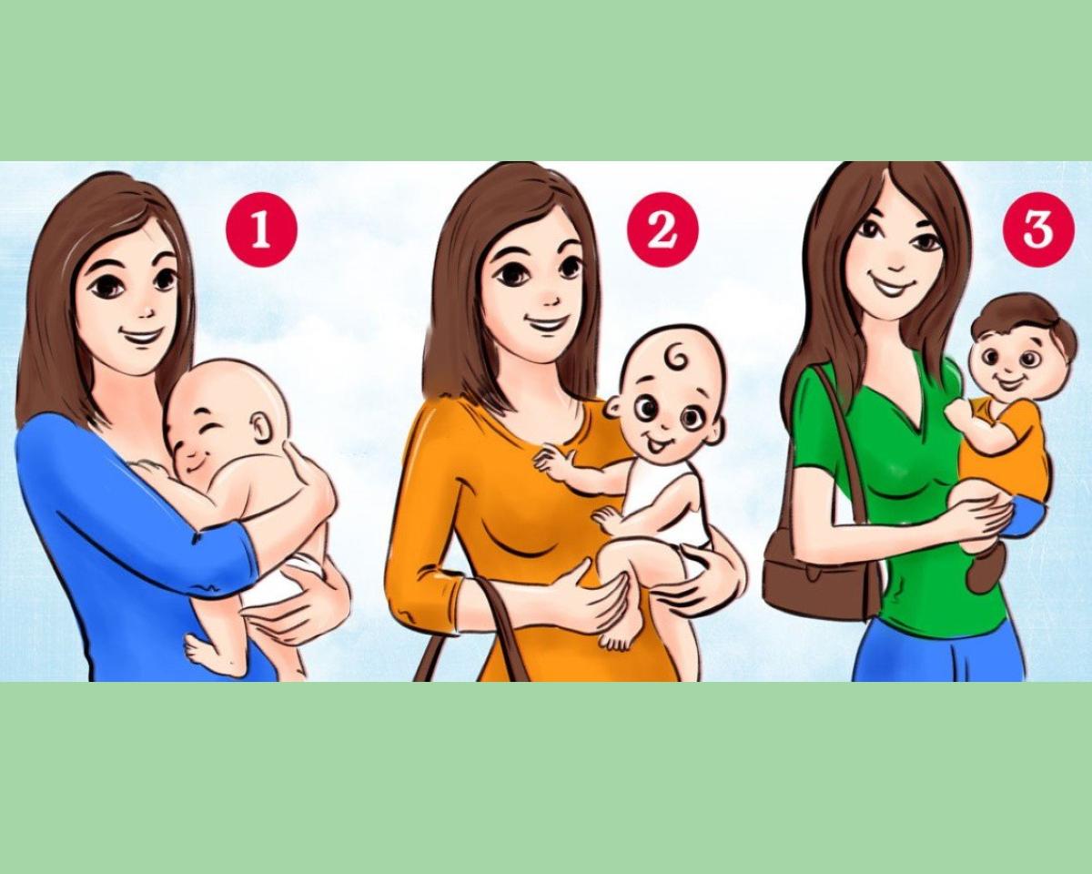 ტესტი: რომელ ქალბატონს არ უჭირავს ხელში თავისი შვილი?