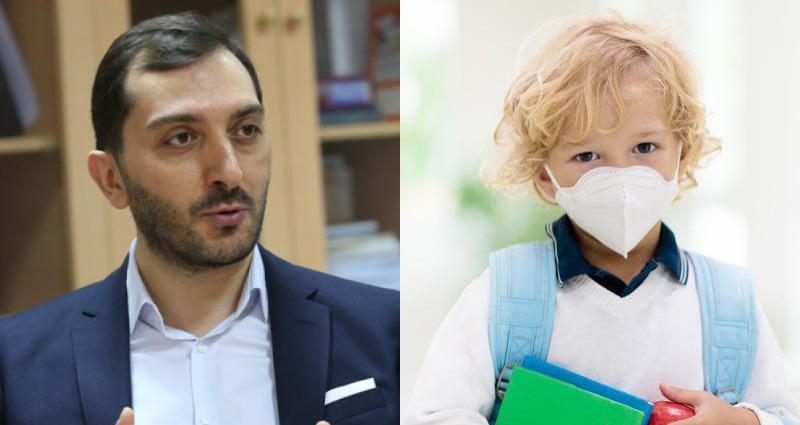 """""""პირბადის ტარება ბავშვის ჯანმრთელობას არავითარ ზიანს არ აყენებს,"""" - ბიძინა კულუმბეგოვი"""
