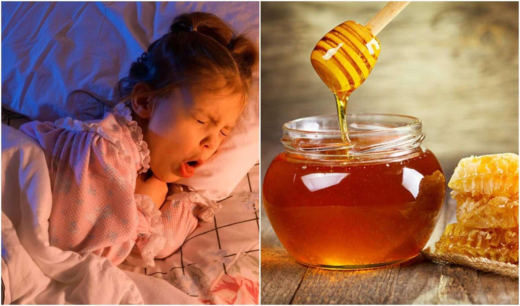 თაფლი აუმჯობესებს მწვავე ხველას ღამით